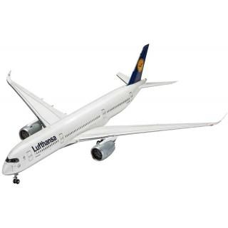 Plastic ModelKit letadlo 03938 - Airbus A350-900 Lufthansa (1:144)