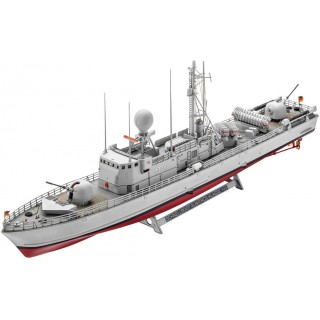Plastic ModelKit loď 05148 - Fast Attack Craft Albatros Class 143 (1:144)