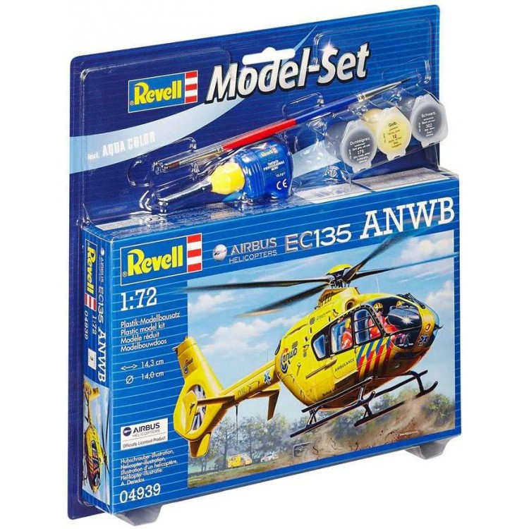 ModelSet vrtulník 64939 - Airbus Heli EC135 ANWB (1:72)