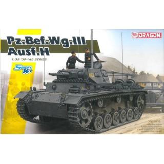 Modelkit tank 6844 - Pz.Bef.Wg.III Ausf. H (Samrt Kit) 1:35