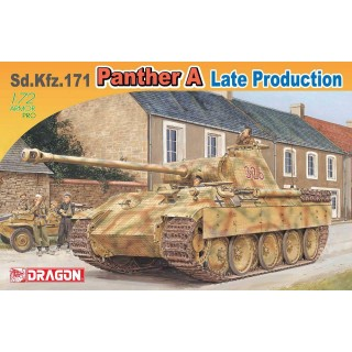 Modelkit tank 7505 - Sd.Kfz.171 Panther A Late Production (1:72)