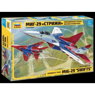 "Model Kit letadlo 7310 - MIG-29 ""Swifts"" (1:72)"