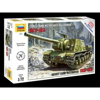 Snap Kit tank 5054 - Soviet Tank Destroyer ISU-122  (1:72)