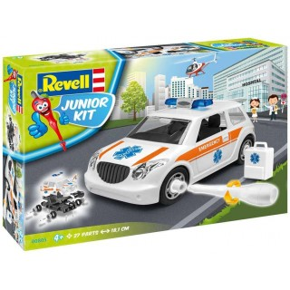 Junior Kit auto 00805 - Rescue Car (1:20)