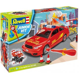Junior Kit auto 00810 - Fire Chief Car (1:20)