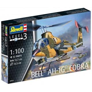 Plastic ModelKit vrtulník 04954 - Bell AH-1G Cobra (1:100)