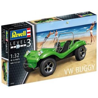 Plastic ModelKit auto 07682 - VW Buggy (1:32)