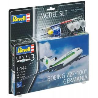 ModelSet letadlo 63946 -  Boeing 727-100 GERMANIA (1:144)