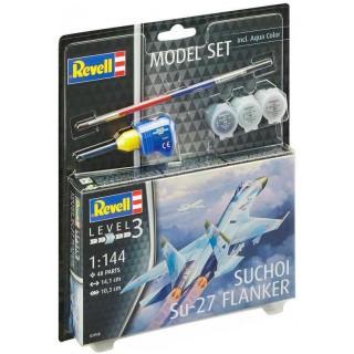 ModelSet letadlo 63948 -  Suchoi Su-27 Flanker (1:144)