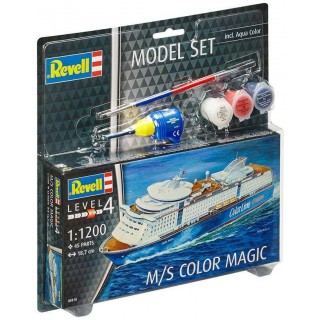 ModelSet loď 65818 -  M/S Color Magic (1:1200)