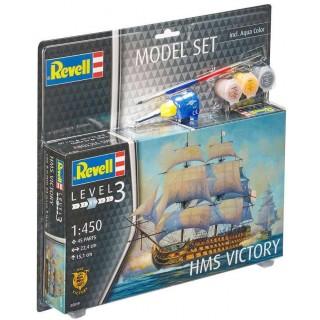 ModelSet loď 65819 -  HMS Victory (1:450)