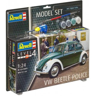 "ModelSet auto 67035 -  VW Beetle ""Police"" (1:24)"