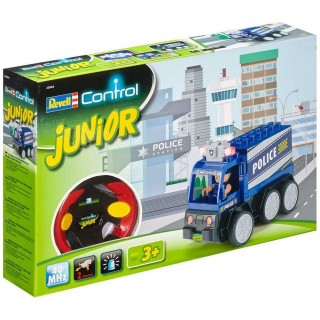 Autíčko REVELL 23004 JUNIOR - Police Car - 40 MHz