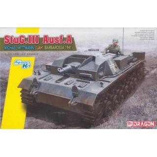 Model Kit tank 6860 - StuG.III Ausf.A, Michael Wittmann, 'LAH'  (Smart Kit) (1:35)