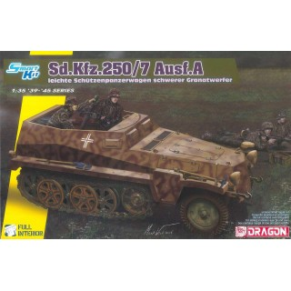 Model Kit tank 6858 - Sd.Kfz.250/7 Alte Ieichte Schutzenpanzerwagwn schwerer Granatwerfer (1:35)