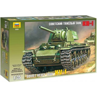 Model Kit tank 3539 - KV-1 SOVIET HEAVY TANK (1:35)