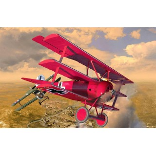 "Gift-Set letadlo Limited Edition 05778 - 125 Years Anniversary ""Rudý baron"" (1:28)"