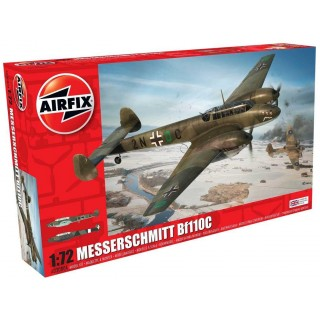 Classic Kit letadlo A03080A - Messerschmitt Bf110C/D (1:72)