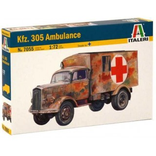 Model Kit military 7055 - Kfz. 305 AMBULANCE (1:72)