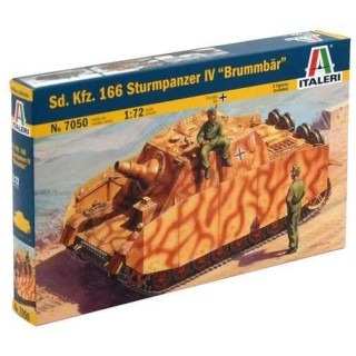 "Model Kit military 7050 - SD. KFZ. 166 STURMPANZER IV ""BRUMMBAR"" (1:72)"