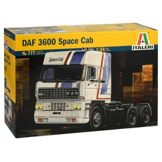 Model Kit truck 0777 - DAF 3600 SPACE CAB (1:24)