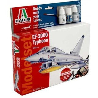 Model Set letadlo 72001 - EF-2000 TYPHOON (1:72)