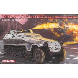 Model Kit tank 6864 - Sd.Kfz.251/16 Ausf.C Flammpanzerwagen (1:35)