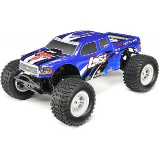 Losi Tenacity Monster Truck 1:10 4WD AVC stříbrná