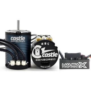Castle motor 1406 2850ot/V senzored s reg. Mamba X