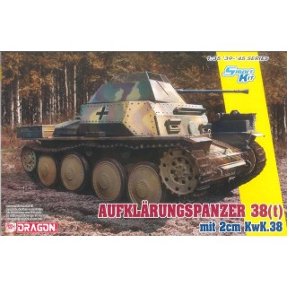 Model Kit military 6890 - Aufklarungspanzer 38(t) mit 2cm Kw.K.38 (Smart Kit) (1:35)