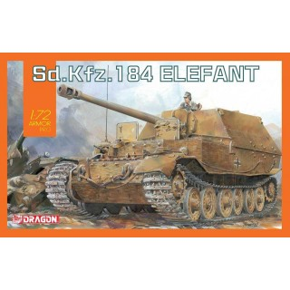 Model Kit tank 7515 - Sd.Kfz.184 Elefant (1:72)