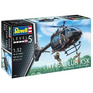 Plastic ModelKit vrtulník 04948 - H145M LUH KSK (1:32)
