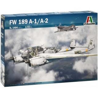 Model Kit letadlo 1404 - FW 189 A-1/A-2 (1:72)