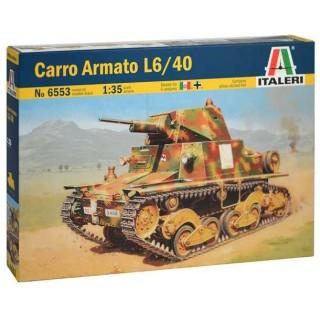 Model Kit tank 6553 - CARRO ARMATO L6/40 (1:35)