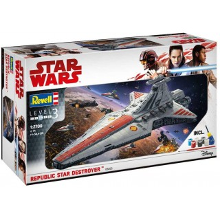 Gift-Set SW Limited Edition 06053 - Gift Set Republic Star Destroyer (1:2700)