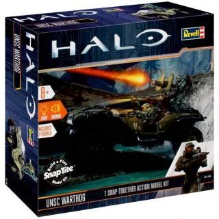 Build & Play HALO 00060 - UNSC-Warthog  (světelné a zvukové efekty) (1:32)