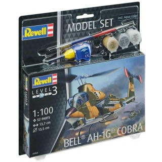 ModelSet vrtulník 64954 -  Bell AH-1G Cobra (1:100)