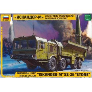 "Model Kit military 5028 - Ballistic Missile System ""Iskander-M"" SS-26 ""STONE"" (1:72)"
