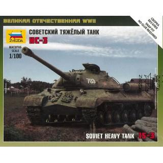 Wargames (WWII) tank 6194 - Soviet Tank IS-3 (1:100)
