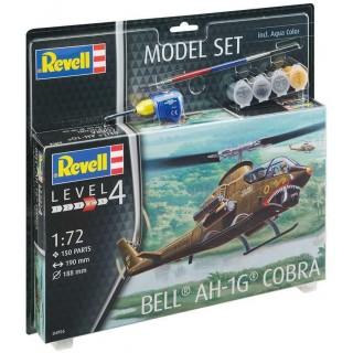 ModelSet vrtulník 64956 - Bell AH-1G Cobra (1:72)