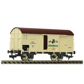 Nízkostenný vagón s nákladem auta X 05, DB