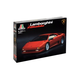 Model Kit auto 3685 - LAMBORGHINI DIABLO (1:24)