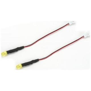 Světelná LED sada - LED blikající žlutá (2)