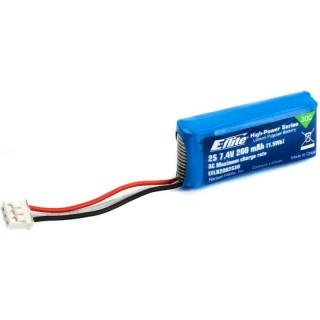 E-Flite LiPol 7.4V 200mAh 30C JST-PH