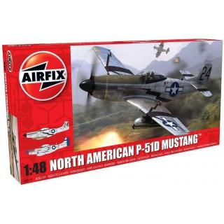 Classic Kit letadlo A05131 - North American P51-D Mustang (1:48) - nová forma
