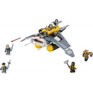 LEGO Ninjago - Bombardér Manta Ray