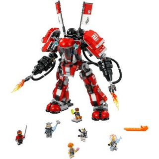 LEGO Ninjago - Ohnivý robot