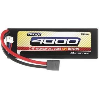 ONYX - LiPo 7,4 4000mAh HardCase Star/T konektor, 25C