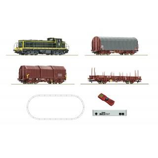 Digitální startovací sada: Diesel lokomotiva řady 132 a freigth vlak, DR
