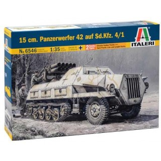 Model Kit military 6546 - 15 cm. PANZERWERFER 42 AUF SD.KFZ. 4/1 (1:35)